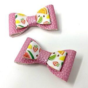 Handmade Fruit Bow